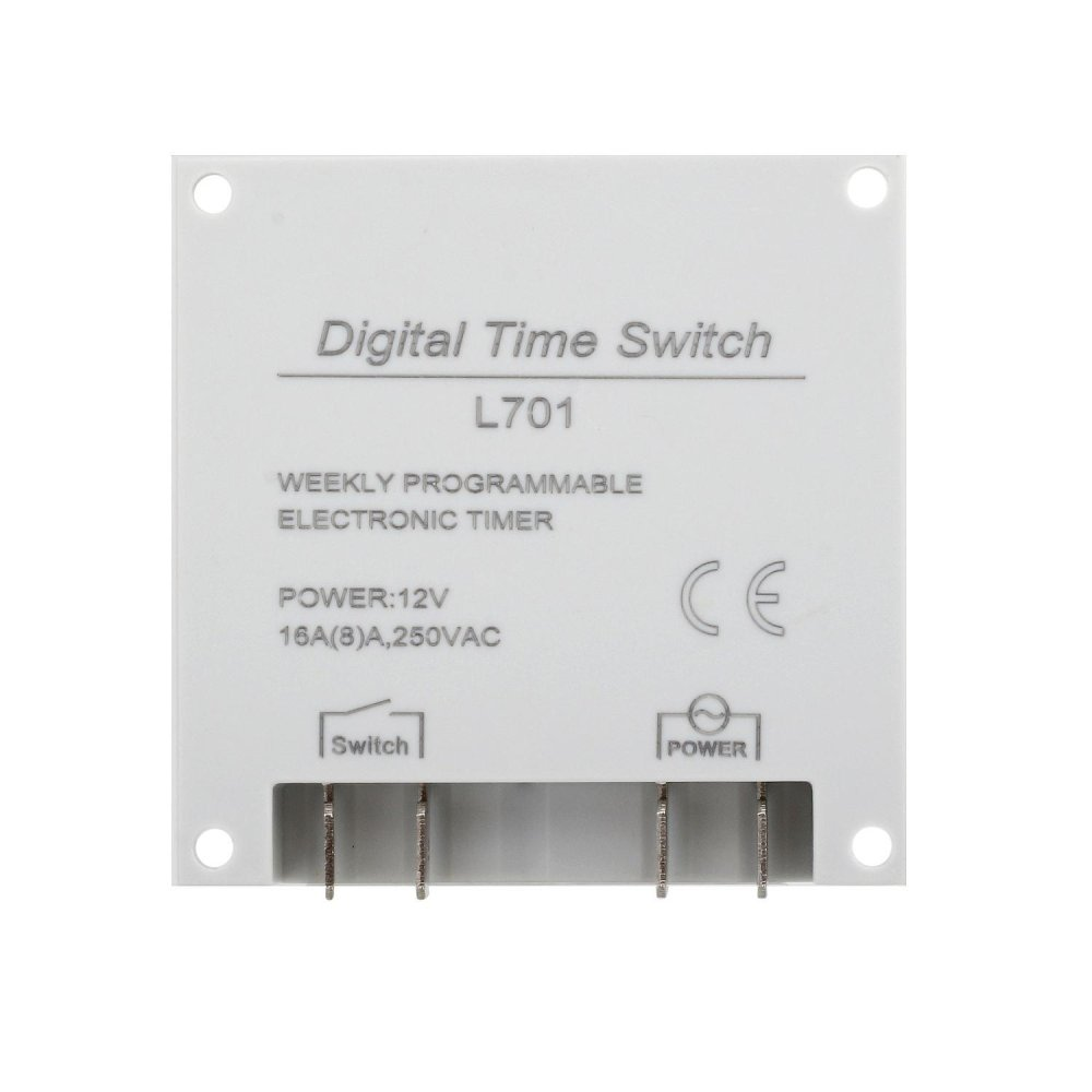 Philippines | AC Electronic timer 12V LCD Timer Switch Display