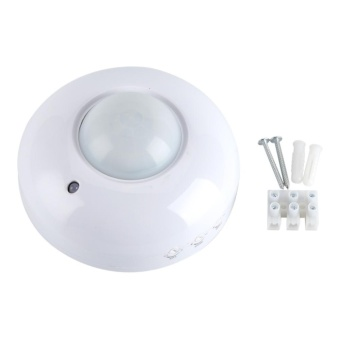 AC110-240V Adjustable Ceiling Surface Mounted Infrared Body Motion Sensor Detector Light Switch - intl - 5
