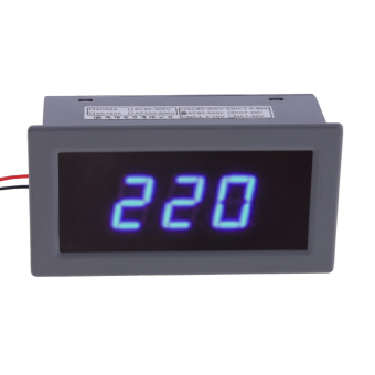 AC220V 60V-500V 0.56 Inch Digital Blue Voltage Meter VoltmeterDisplay Price Philippines