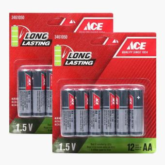 Ace Hardware 12-pack AA Battery (Set of 2)