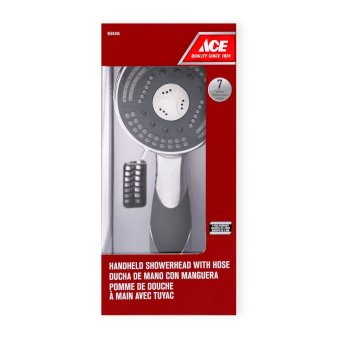 Ace Hardware 7-setting Handheld Showerhead with Hose