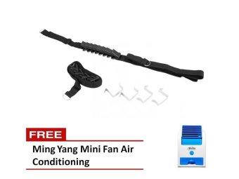Adjustable Bag Rack w/ FREE Ming Yang Mini Fan Air Conditioning