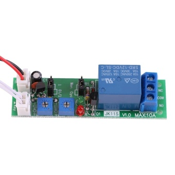 Adjustable Cycle Timer Delay On/Off Switch Relay Module(DC12V,0-120min) - intl