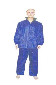 Adult Raincoat and Pants (Blue)