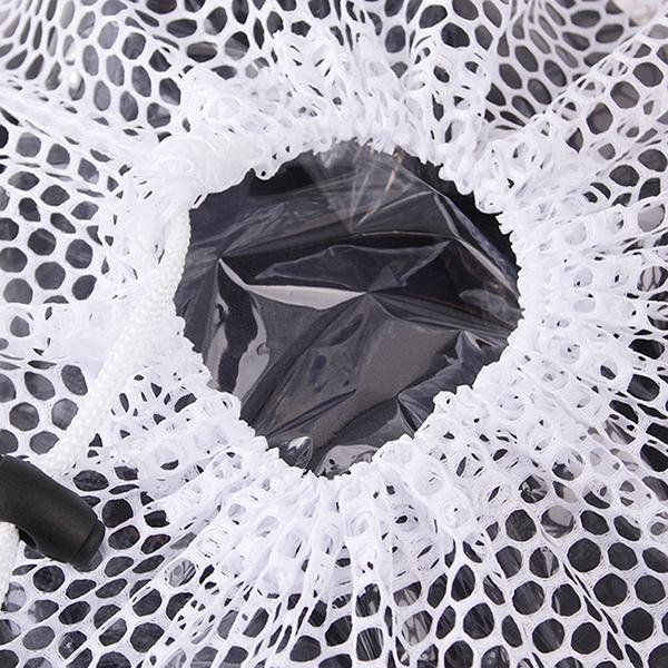 Ai Home Net Washing Bag Laundry Saver Lingerie Mesh Thicked Net Bag37x27cm White