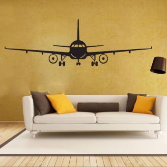 Airplane PVC Art Picture Decoration Wall Sticker Wallpaper(L) - intl - 4