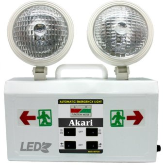 Akari AELG-007LED LED Rechargeable Emergency light with Exit Light