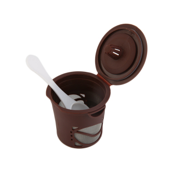 Allwin 1pc Refillable Coffee Capsules Pod For Nespresso StainlessSteel Filters