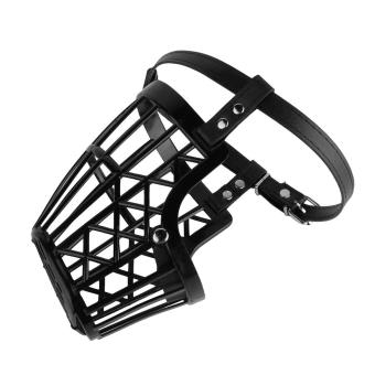 Allwin Adjustable Basket Mouth Muzzle Cover For Dog Training BarkBite Chew Control