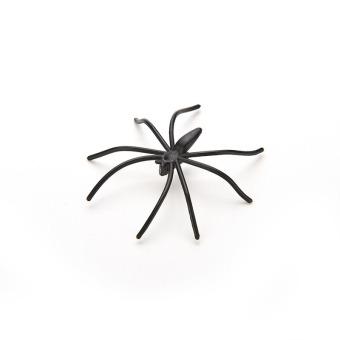 Amango Black Spider Joking Toys Plastic Set of 20 - picture 2
