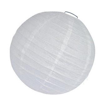 """Amango Paper Lanterns Decoration Chinese 12"""" white"""