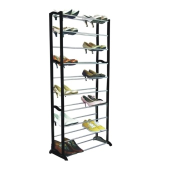 Amazing Shoe Rack (Black/White)