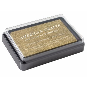 American Crafts Gold Ink Pad
