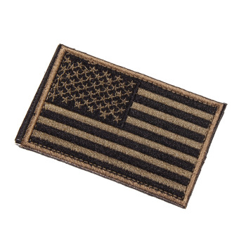 American Flag Embroidered Patch Patriotic USA Military Patch armygreen