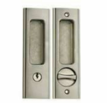 Amerilock Sliding Lock for Door (Metal)