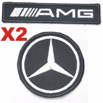 AMG Mercedes Benz Embroidered Cloth Patch Set (Get 2)
