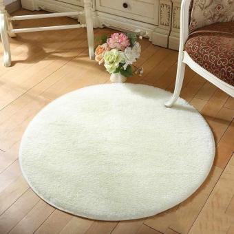Anti-slip Living Room Round Floor Mat Rug - intl