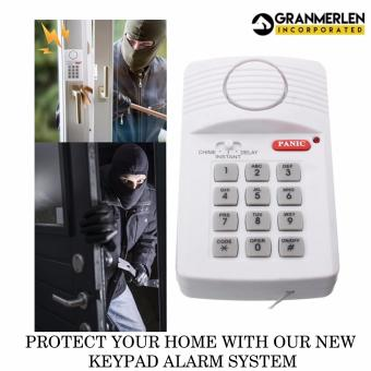 Anti Thief Wireless Panic Alarm Device With Security Keypad ForGarden Shed Garage Door