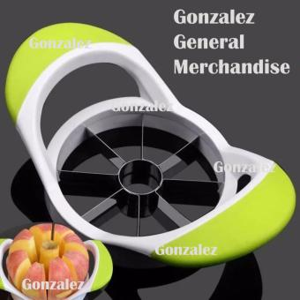 Apple Fruits Stainless Steel Corer Slicer Cutter (AppleGreen)