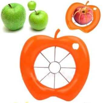 Apple Slicer Cutter Corer Wedger Pear Fruit Stainless Steel Kitchen Peeler