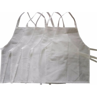 Apron Kids White 5's