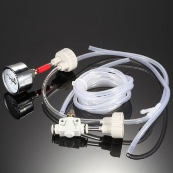 Aquarium DIY CO2 Generator System Kit with Pressure Air FlowAdjustment Water Plant Fish Tank Aquarium Accessory - intl