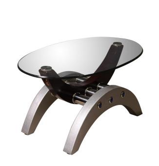 Arcs & Oval Coffee Table - 5