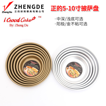 Are the home non-stick oven dish round dish pizza Plate