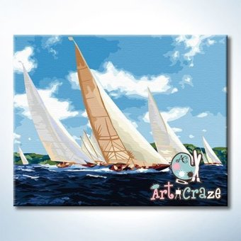Art Craze Yatch Racing Paint by Numbers Kit Price Philippines