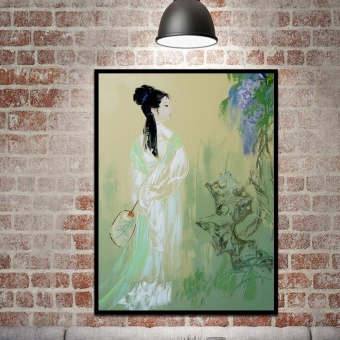 Art Modern Abstract Painting Canvas Picture Print Wall Hangings Decor - intl