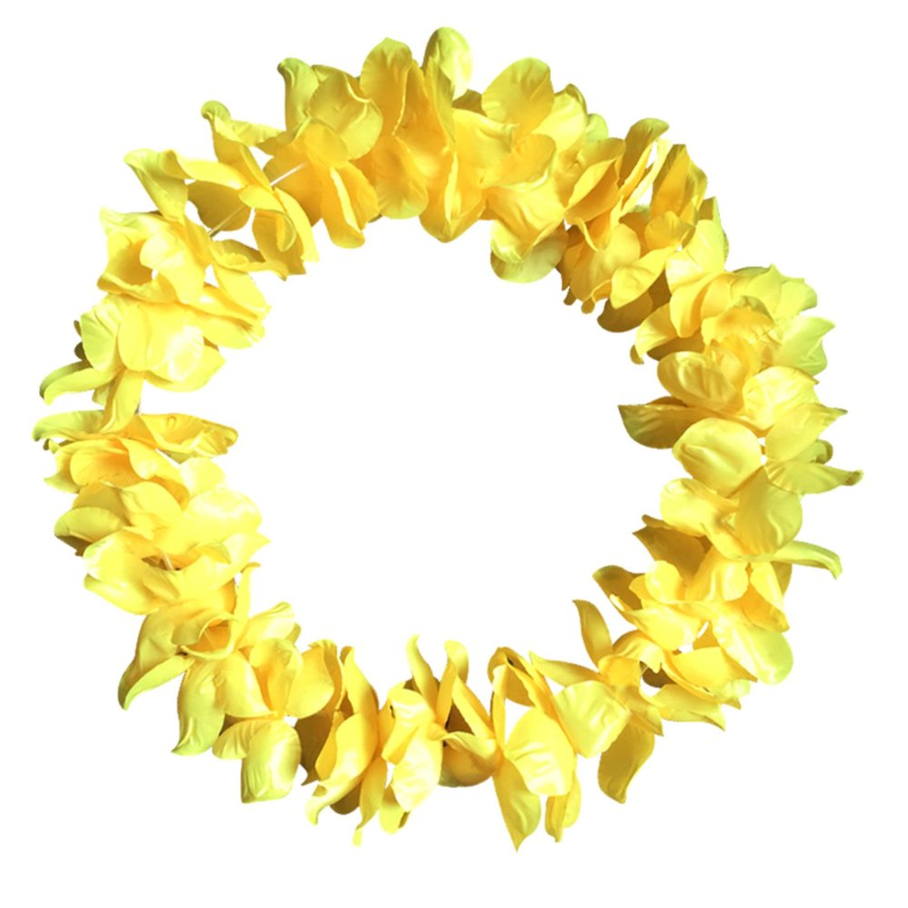 Philippines artificial flowers wreath party decoration hawaiian artificial flowers wreath party decoration hawaiian flower leiswedding birthday christmas supplies garland flower necklace intl izmirmasajfo