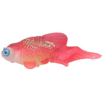 Artificial Silicone Swim Electronic Robofish Toy Fish Robotic Fishing Tank (Red) - intl - 2