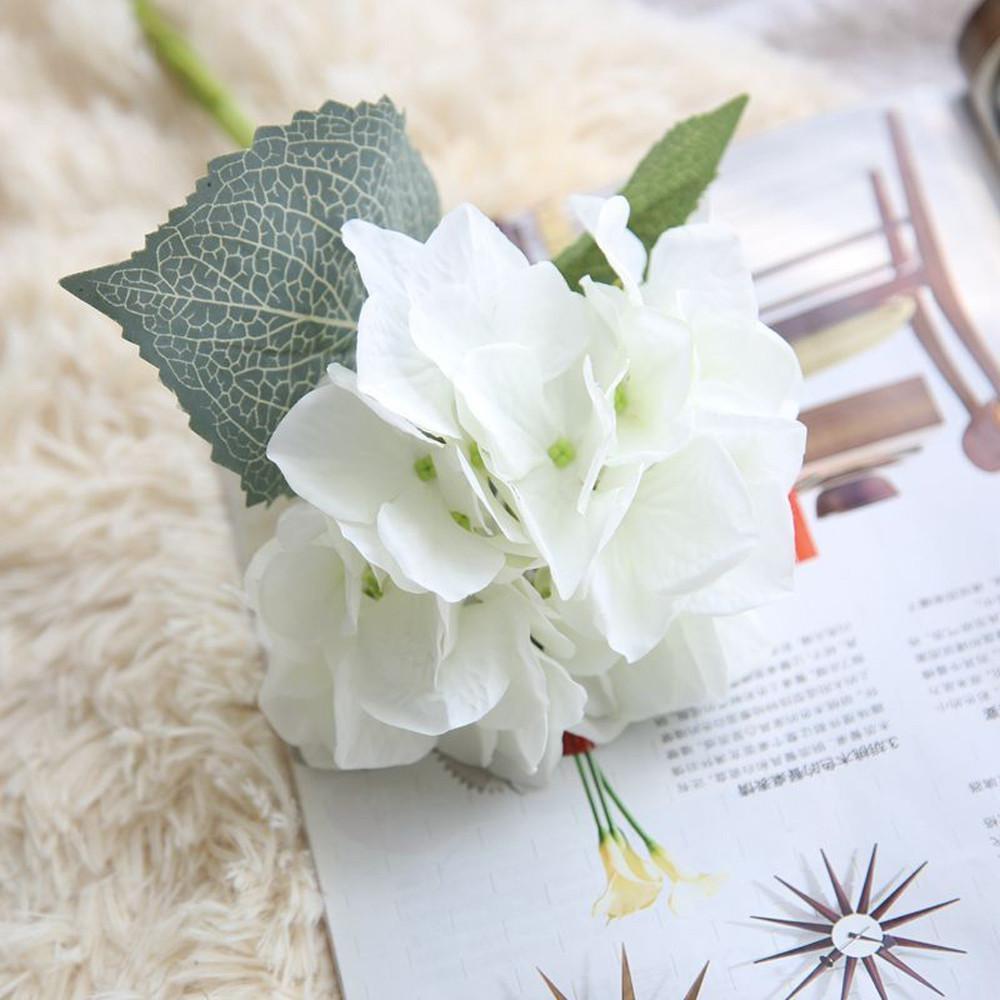 Philippines Artificial Silk Fake Flowers Hydrangea Floral Wedding