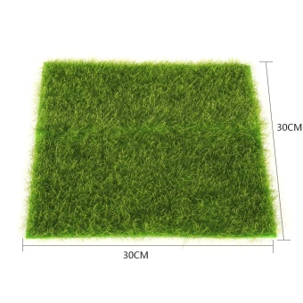 Artificial Turf Lawn Grass Plants For Miniature DollhouseLandscaping Decoration(30 x 30cm) - intl