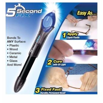 As seen on TV 5 second fix liquid plastic 5 seconds all-purpose adhesive