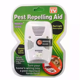 As Seen on TV Riddex Quad Pest Repelling Aid Features Sonic Pest Repelling Aid