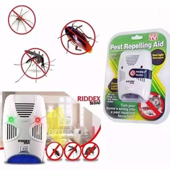 As Seen on TV Riddex Quad Pest Repelling Aid Features Sonic PestRepelling Aid