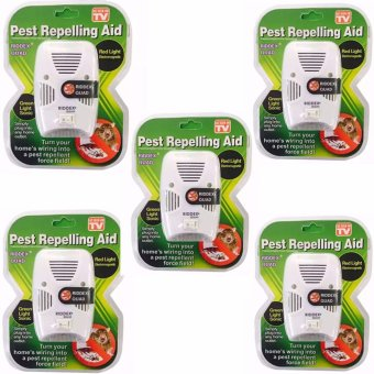 As Seen on TV Riddex Quad Pest Repelling Aid Features Sonic PestRepelling Aid Set of 5