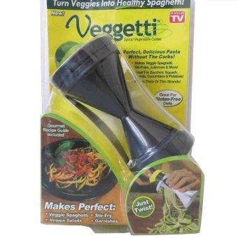 As Seen on TV Vegetti Spiral Vegetable Slicer (Black) - 3