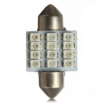 Autoleader SMD 12-LED Map Dome Interior Lights Bulbs 31MM Festoon Blue