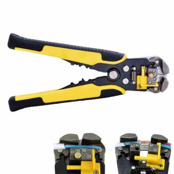 Automatic Cable Wire Stripper Stainless Steel Crimper Pliers - intl