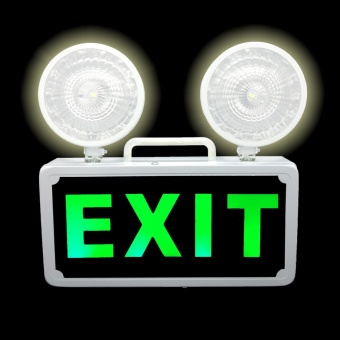 Automatic LED Emergency Exit Signage Combo Light 3W