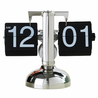 Automatic Modern Retro Flip Clock, Home and Office Table Clock Price Philippines