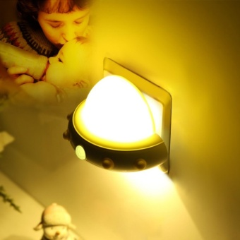 Automatic Plug-in LED Night Light Lamp , LED Sensor Night Light for Bedroom, Stairwells, Hallway,Mini energy-saving baby feeding led lights,LED Bulbs - intl Price Philippines