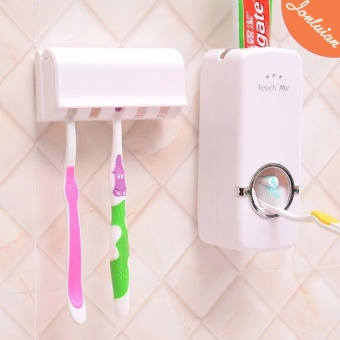 Automatic Touch Me Toothpaste Toothbrush Dispenser
