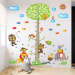 Baby children's room living room cartoon animal amount of sticker wall stickers