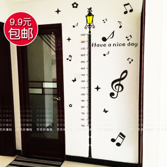 Baby cute height ruler amount of height wall stickers height stickers