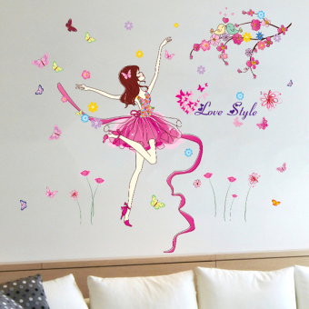 Baet Dance living room sofa bedroom sticker wall adhesive paper