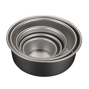Baking Tin Pan Round Mold For Kitchen Diy 4'' - intl