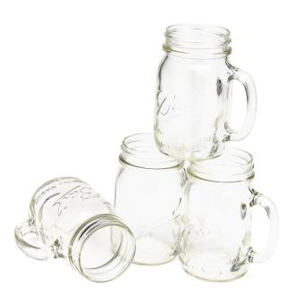Ball Regular-mouth Drinking Mason Jars with Handle